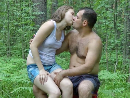 Секс Русский Лес