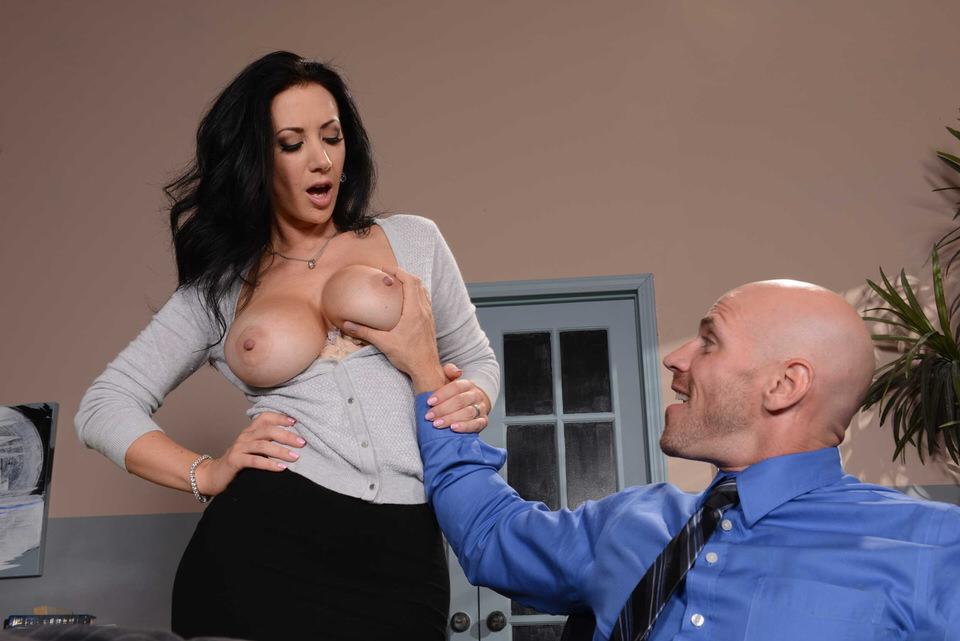 Секс секретарши первый