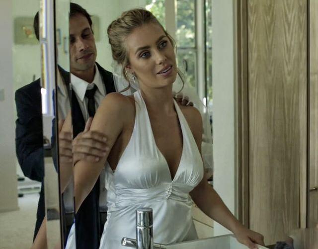 Смотреть порно на свадьбе невесту впопу