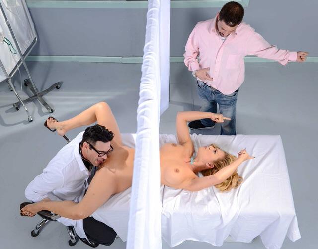 Жены измена порно у гинеколога