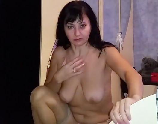 Кончил зрелой русской женщины